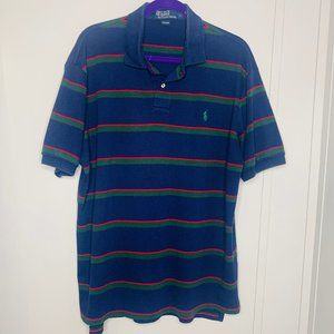POLO By Ralph Lauren Striped Polo Shirt XL
